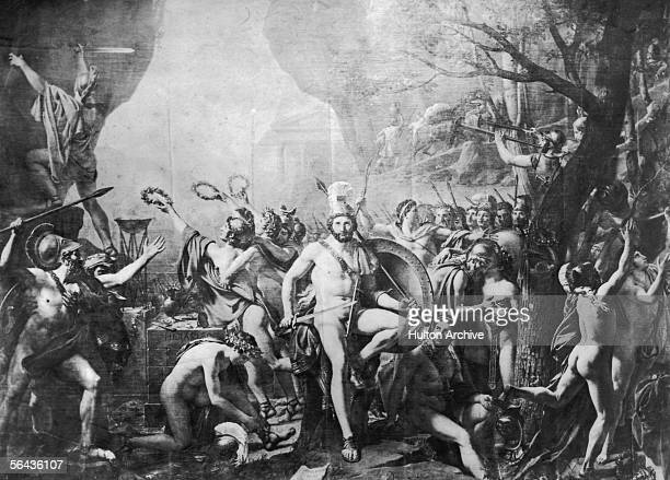King Leonidas I of Sparta prepares to defend the pass at Thermopylae against the Persian advance with a force of only 300 men August 480 BC He and...