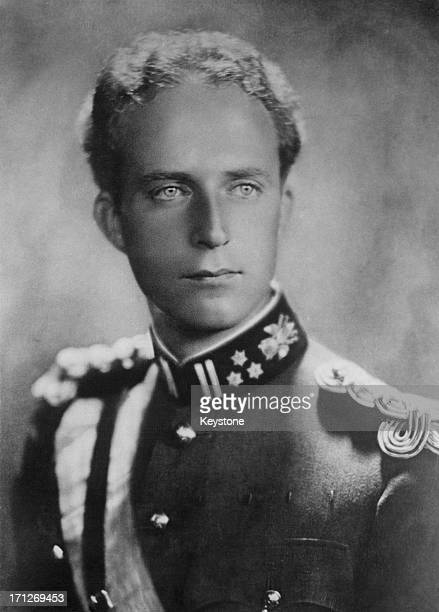 King Leopold III of Belgium circa 1930