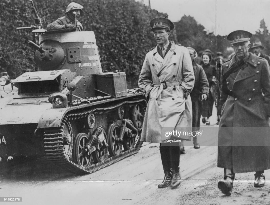 King Leopold III of Belgium (1901 - 1983) during World War II, circa 1939.