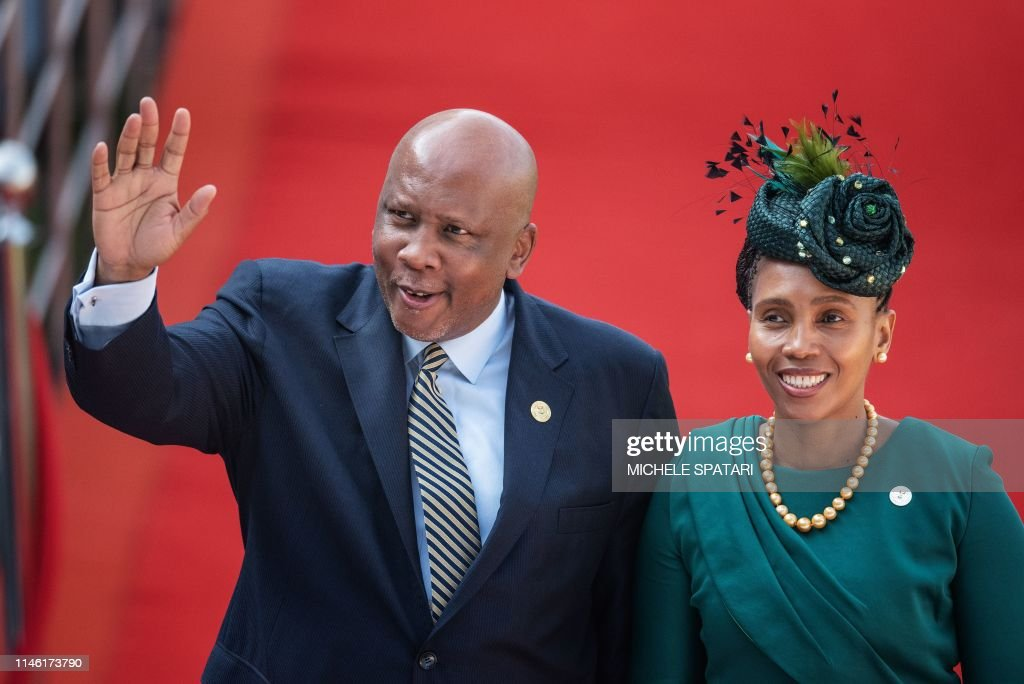 SAFRICA-POLITICS-INAUGURATION : News Photo