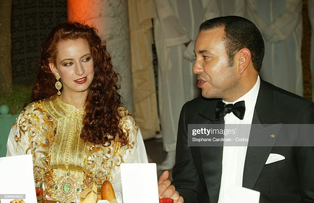 Ceremony at the Royal Palace - Marrakech Film Festival 2002 : News Photo