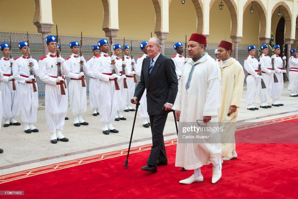 King Juan Carlos of Spain Visits Morocco - Day 2
