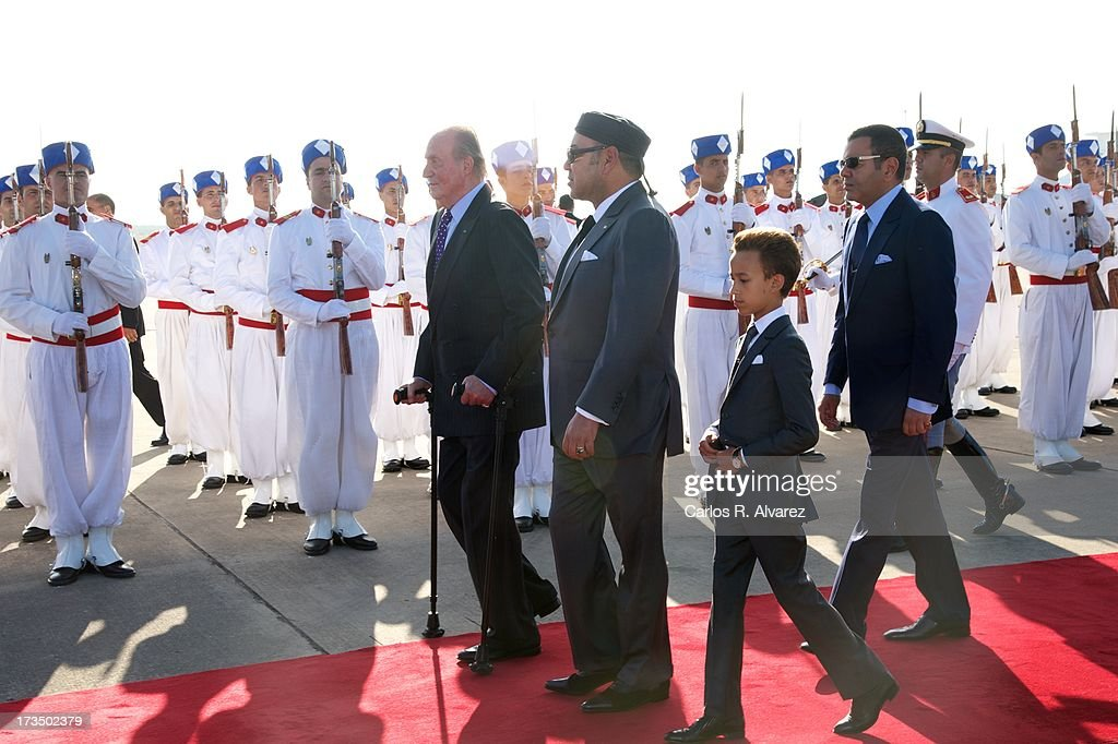 King Juan Carlos of Spain Visits Morocco - Day 1 : ニュース写真