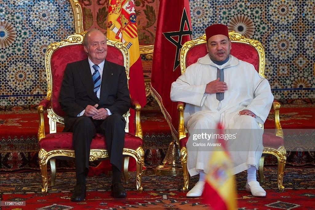 King Juan Carlos of Spain Visits Morocco - Day 2 : News Photo