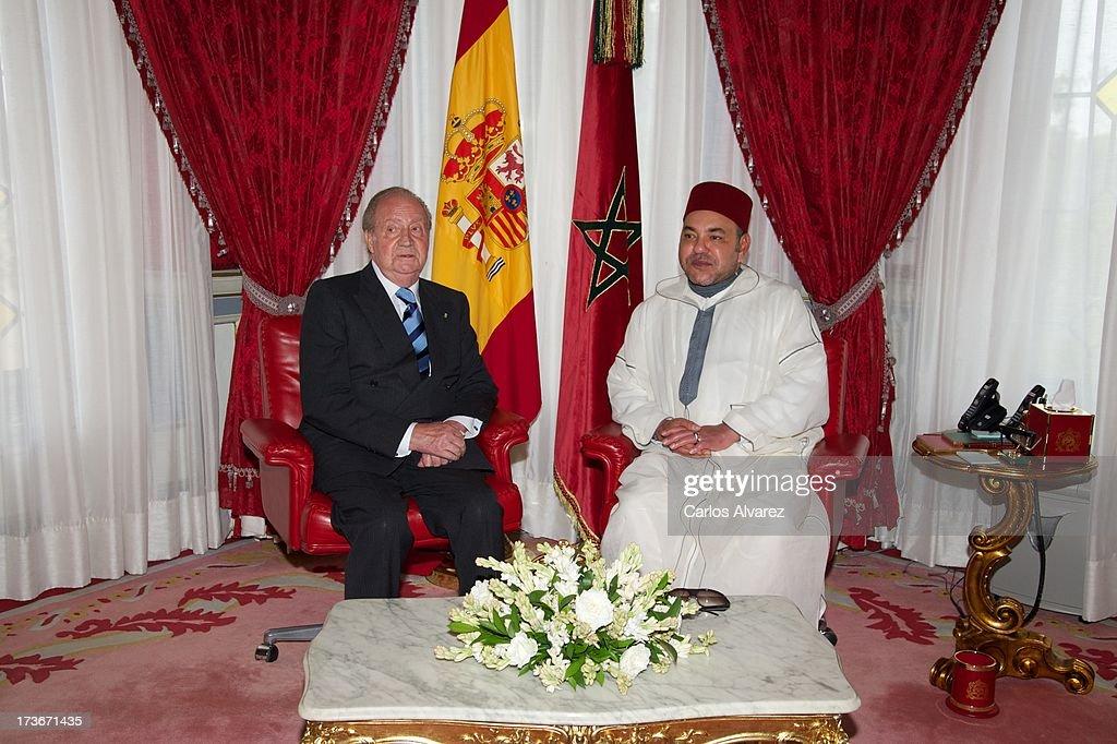 King Juan Carlos of Spain Visits Morocco - Day 2 : ニュース写真