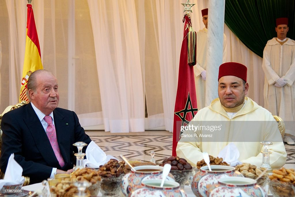 King Juan Carlos of Spain Visits Morocco - Day 2
