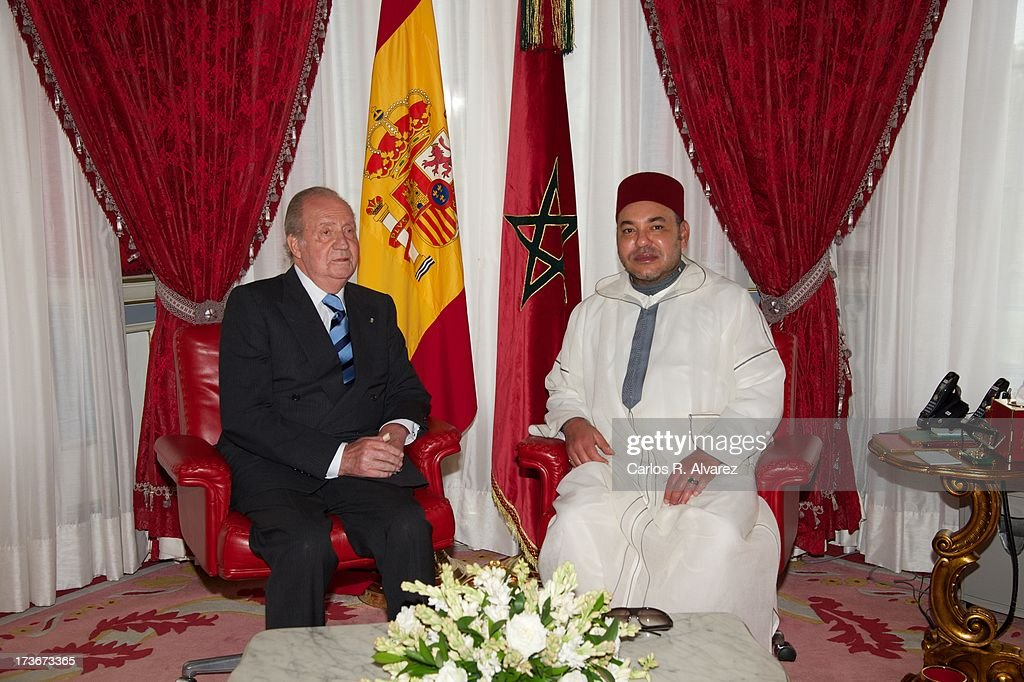 King Juan Carlos of Spain Visits Morocco - Day 2 : News Photo