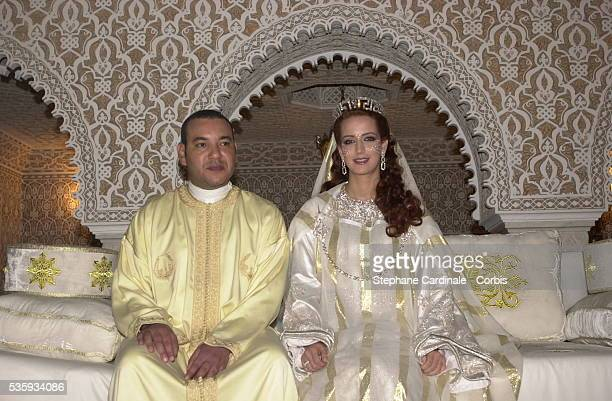 King Mohammed VI of MoroccoHRH Princess Lalla Salma PhotoStephane Cardinale/People Image/Corbis Sygma