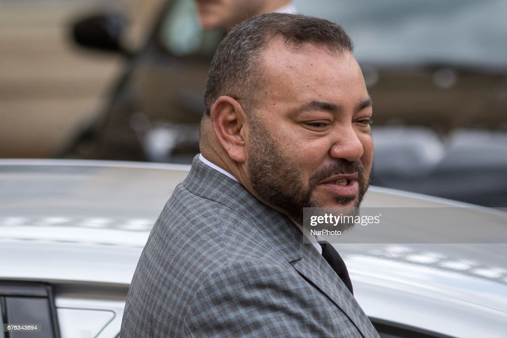 Diplomatic Visit Of King Muhammad VI In Paris : News Photo