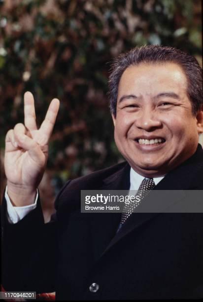 King of Cambodia Norodom Sihanouk , New York, New York, January 12, 1979.