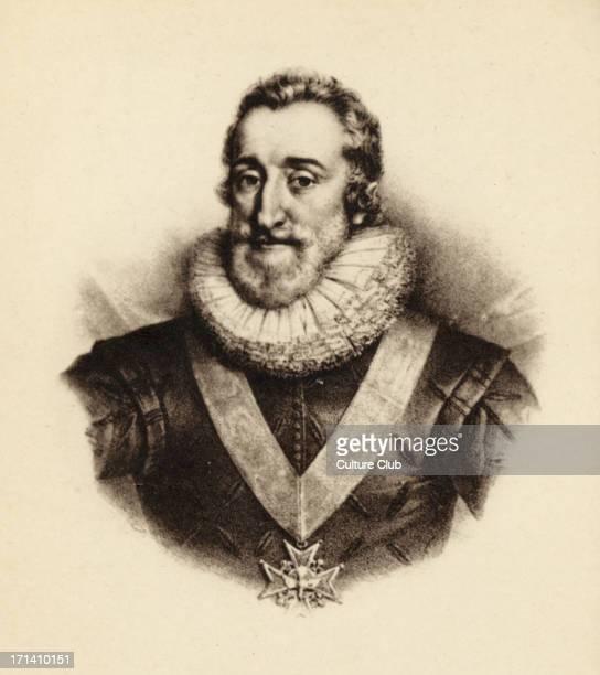 King of France. Reigned 1593-1610 b. 1553 - d. 1610