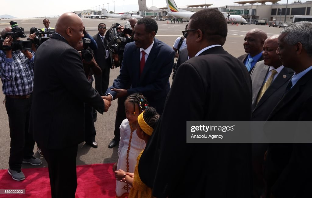 King Of Lesotho Letsie Is Welcomed By Ethiopian Health Minister Yifru News Photo Getty Images