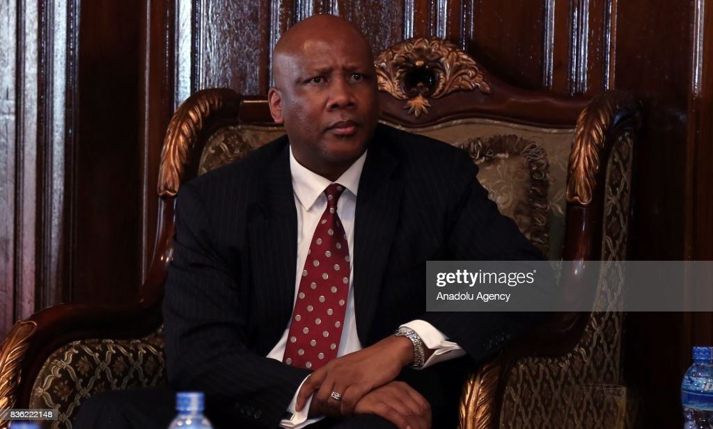 King of Lesotho Letsie in Ethiopia : News Photo