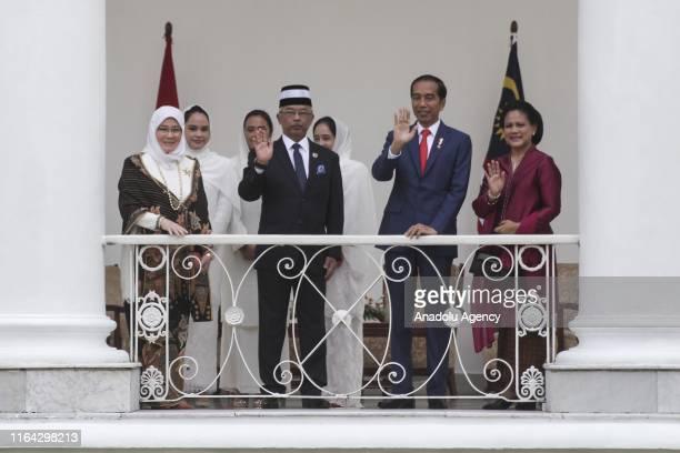 King of Malaysia the sixth Sultan of Pahang AlSultan Abdullah Ri'ayatuddin AlMustafa Billah Shah Ibni Sultan Ahmad Shah AlMusta'in Billah and Queen...