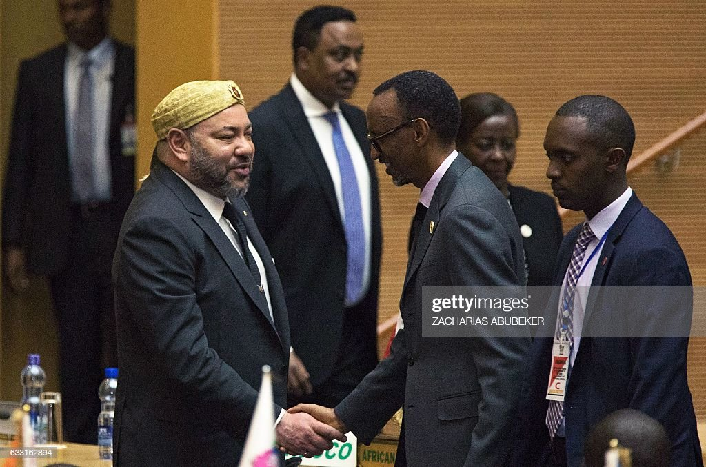 ETHIOPIA-MOROCCO-AU-POLITICS-SUMMIT : News Photo