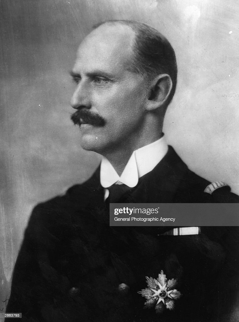 King of Norway Haakon VII (1872 - 1957) who is visiting England for the marriage of Princess Marina to the Duke of Kent on 29 November 1934.