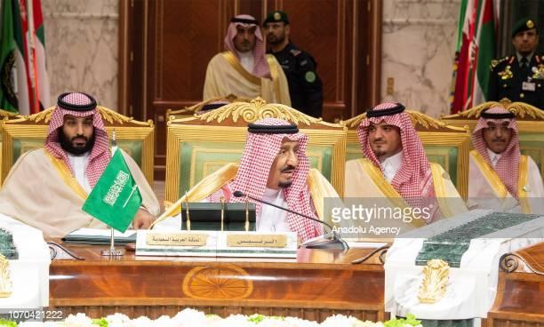 CREDIT BANDAR ALGALOUD / SAUDI KINGDOM COUNCIL / HANDOUT NO MARKETING NO ADVERTISING CAMPAIGNS DISTRIBUTED AS A SERVICE TO CLIENTS King of Saudi...