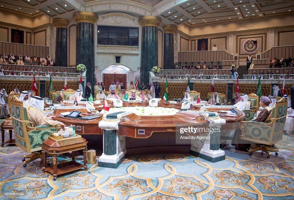 39th Gulf Cooperation Council (GCC) Summit in Riyadh : News Photo