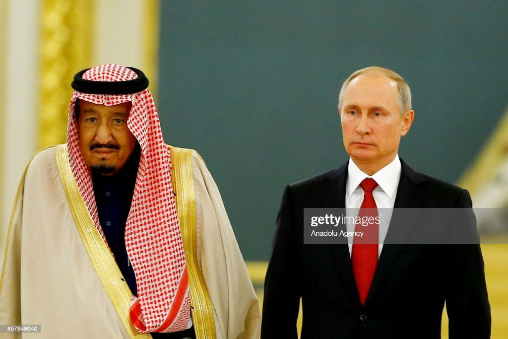 King of Saudi Arabia Salman bin Abdulaziz Al Saud in Russia : News Photo