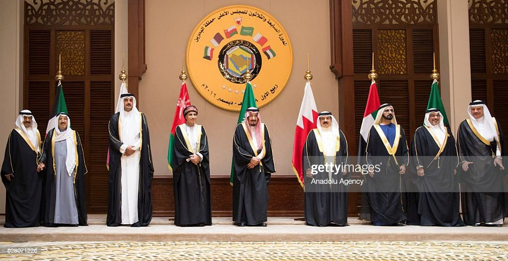 Gulf Cooperation Council meeting in Manama : ニュース写真