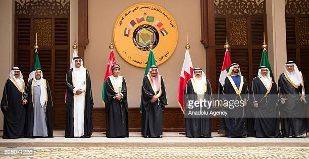 King of Saudi Arabia, Salman bin Abdulaziz Al Saud , Vice president and prime minister of the United Arab Emirates and Emir of Dubai, Mohammed bin...