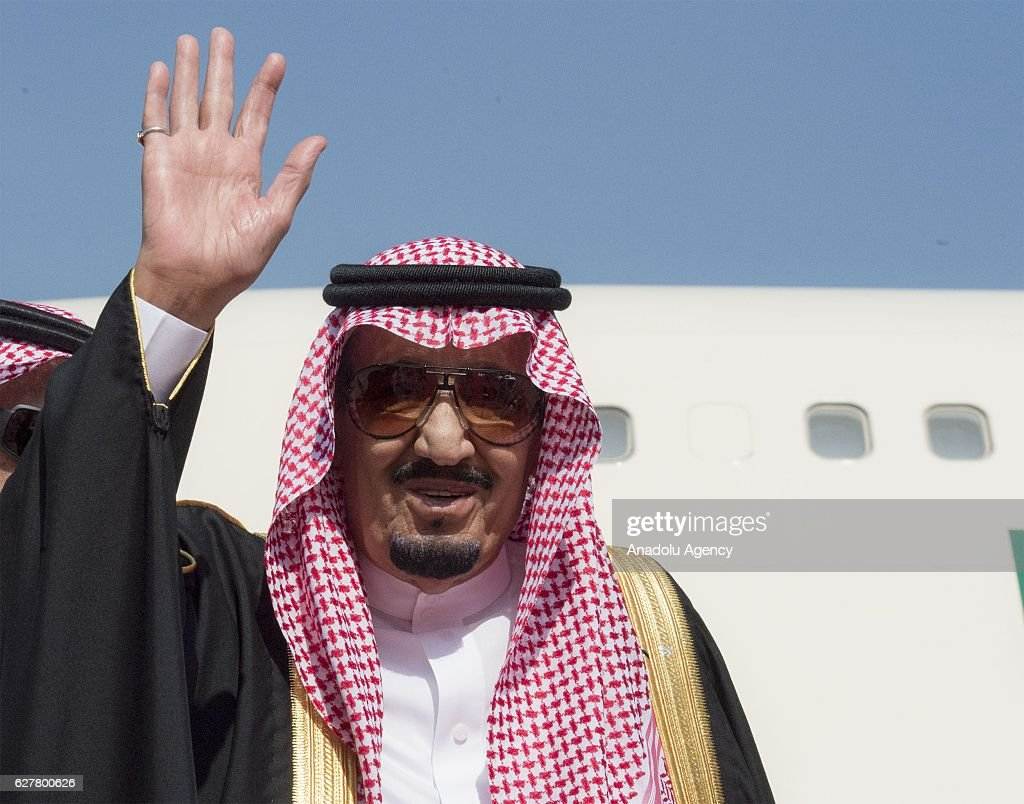 King of Saudi Arabia Salman bin Abdulaziz leaves Dubai : News Photo