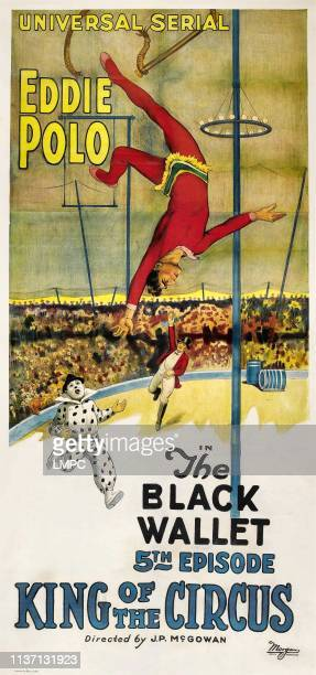 King Of The Circus poster Eddie Polo in 'Episode 5 The Black Wallet' 1920