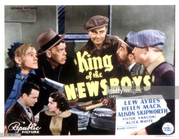 Image result for king of the newsboys 1938