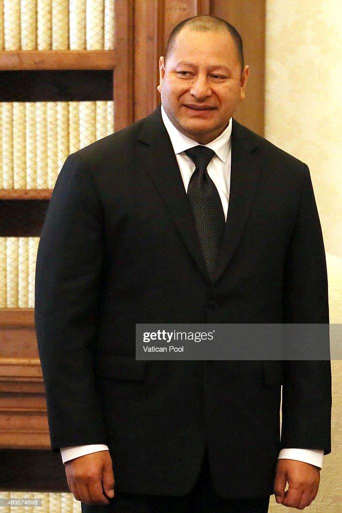 Pope Meets King of Tonga Tipou VI : News Photo