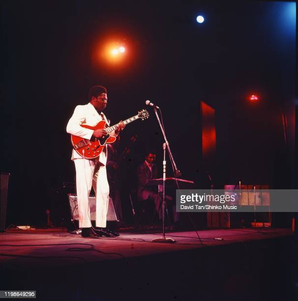 King on stage at Newport Jazz Festival, Rhode Island, United States, 6th July 1969.