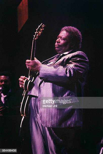 BB King performing at the Beacon Theater in New York City on November 4 1988