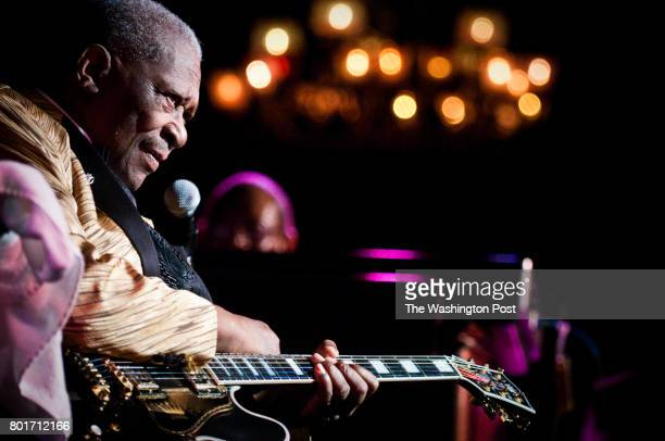 BB King performs a sold out New Year's Day show at the Birchmere