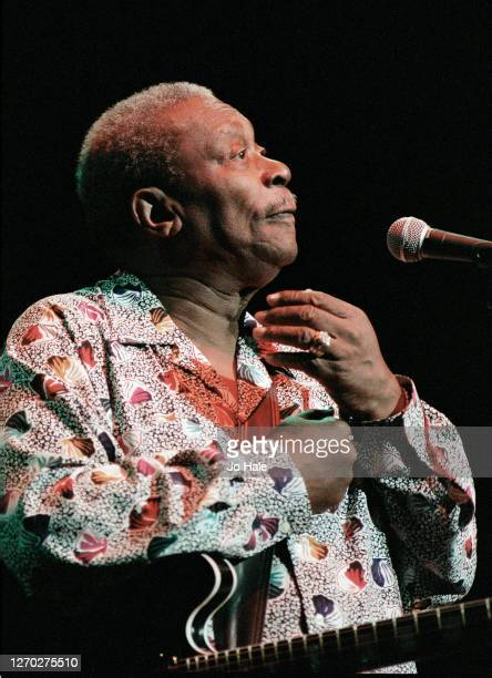 BB King performs at Royal Albert Hall in London England 1st July 1997