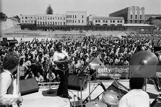 King performs live at San Quentin Prison in 1981 in San Quentin California
