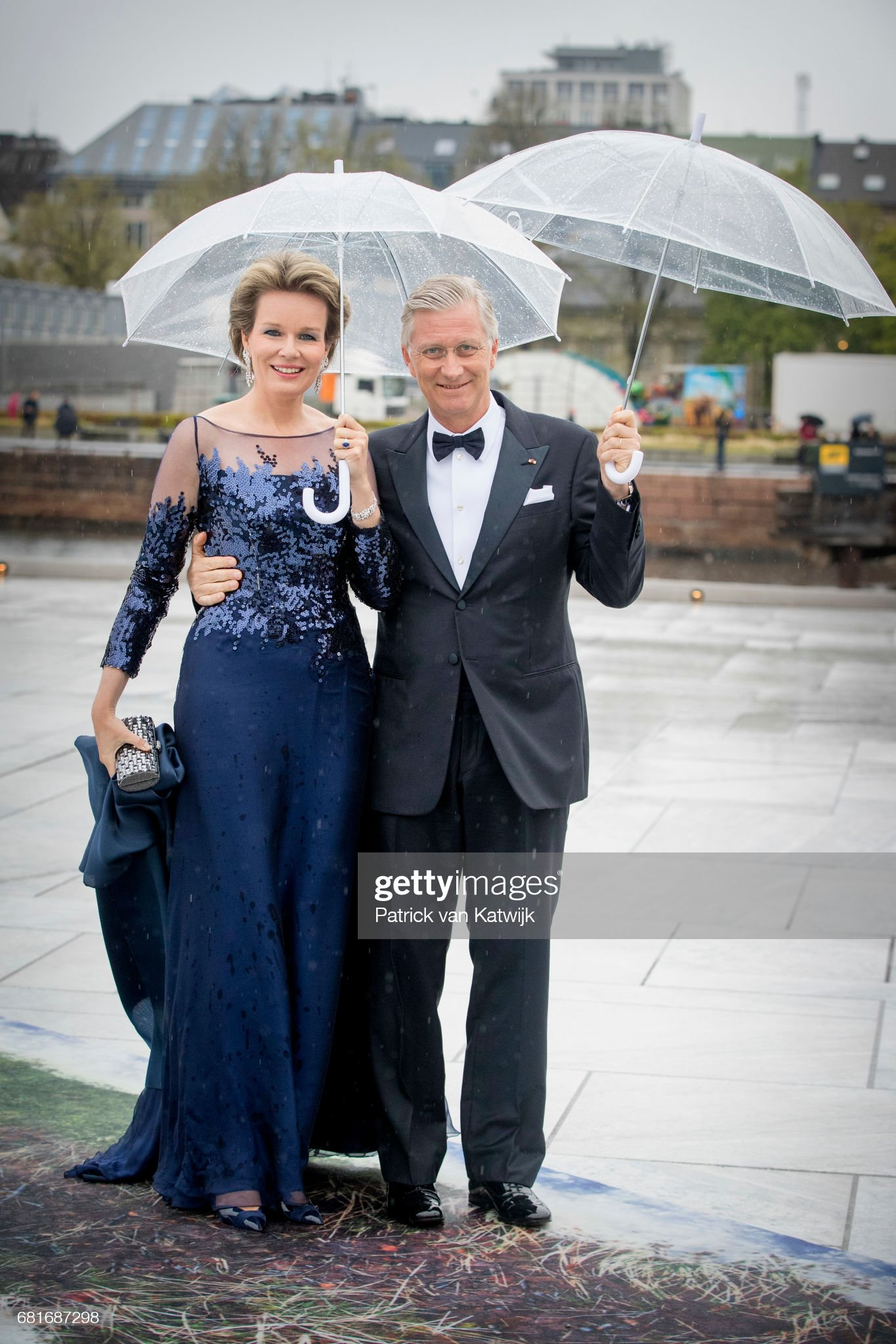 Вечерние наряды Королевы Матильды King and Queen Of Norway Celebrate Their 80th Birthdays - Banquet At The Opera House - Day 2 : News Photo