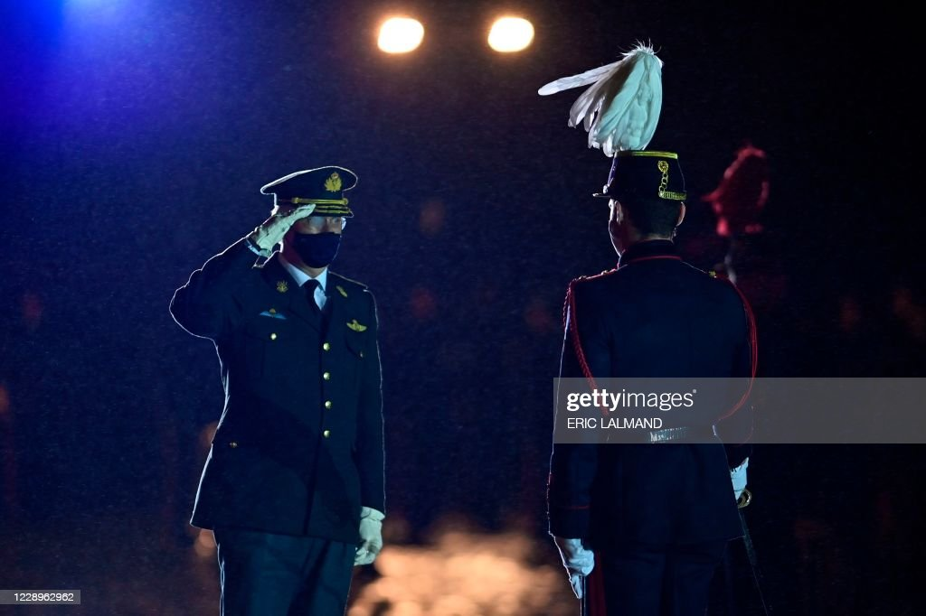 BELGIUM-MILITARY-ROYALS : News Photo