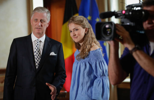 BEL: King Philippe Of Belgium Delivers A Speach For Belgium National Day