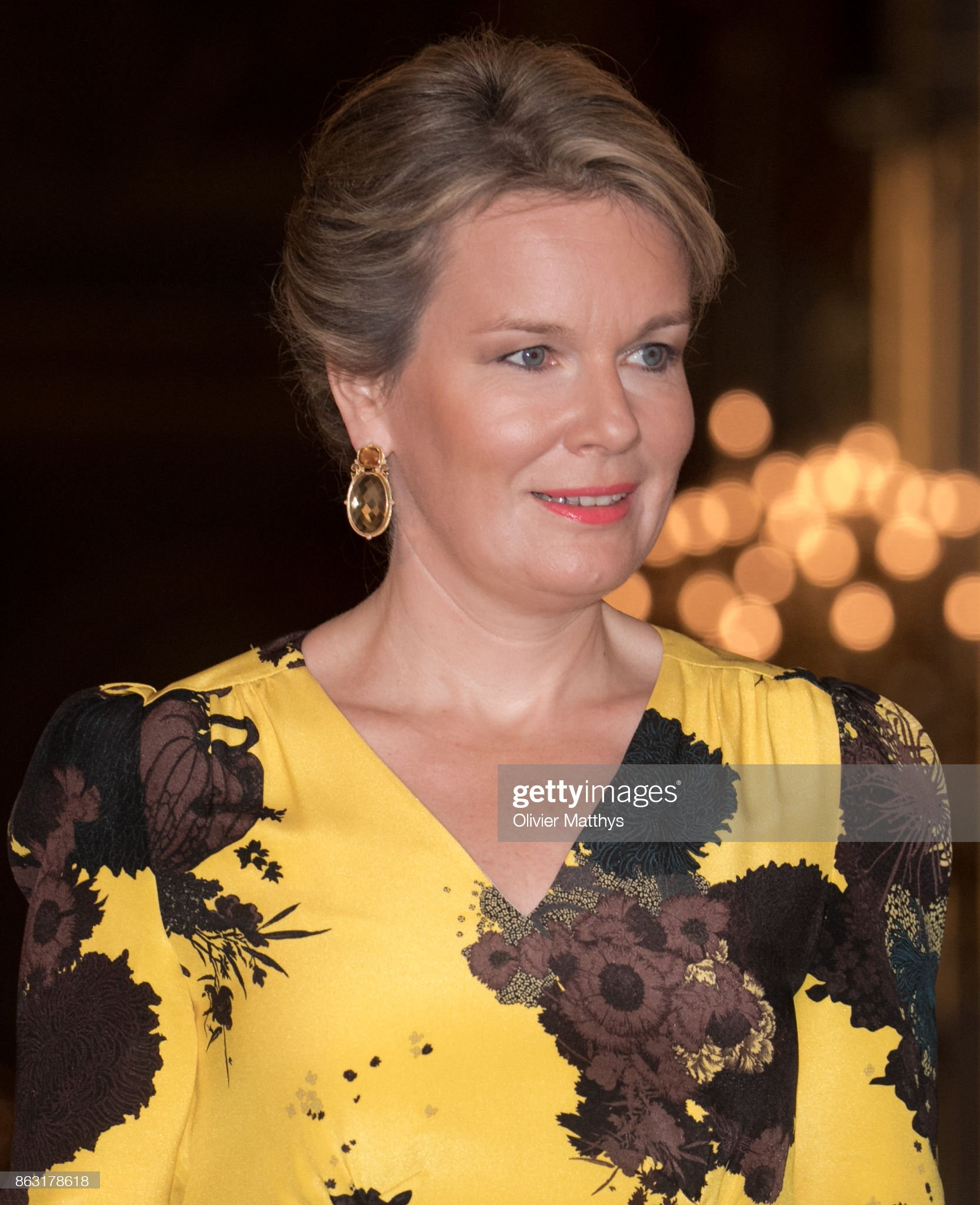 Вечерние наряды Королевы Матильды The Belgian Royal Family Attends The Concert To Honor Young Talents In Brussels : News Photo