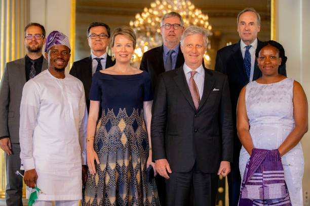 BEL: King Philippe Of Belgium And Queen Mathilde Of Belgium Attend King Baudouin Award For Development In Africa To Wecyclers