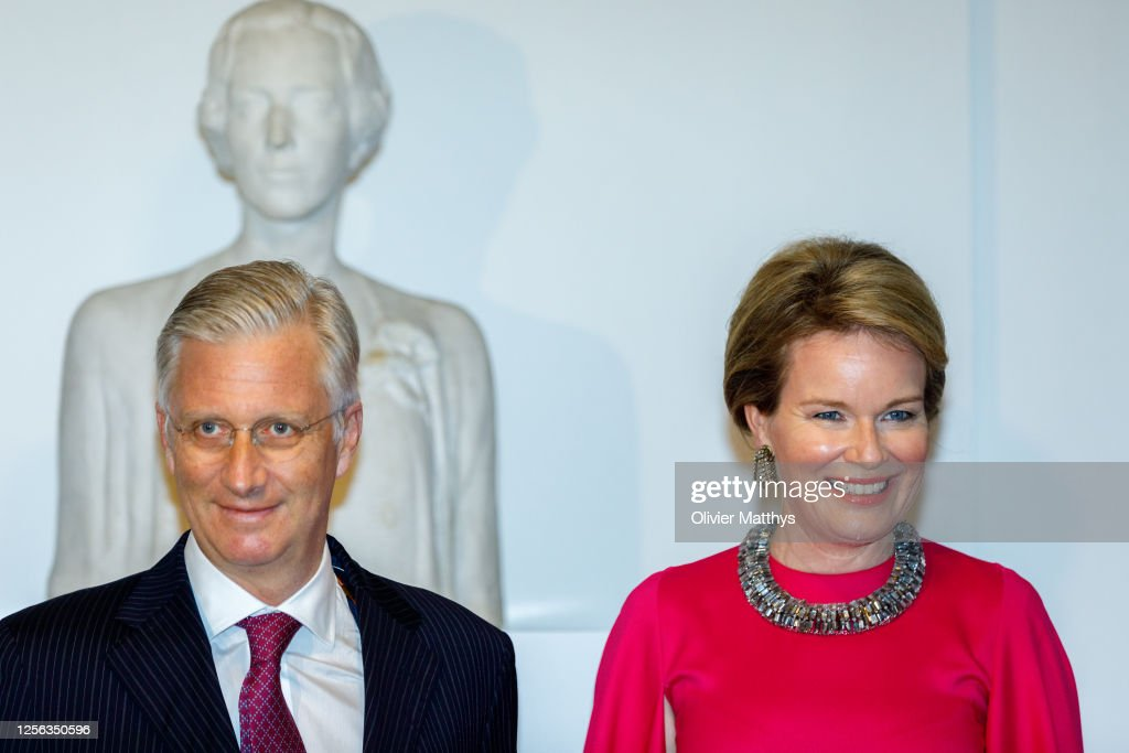 Belgium Royal Family Attends The Preludium To The National Day Concert At The Bozar Palace For Fine Arts In Brussels : Nieuwsfoto's