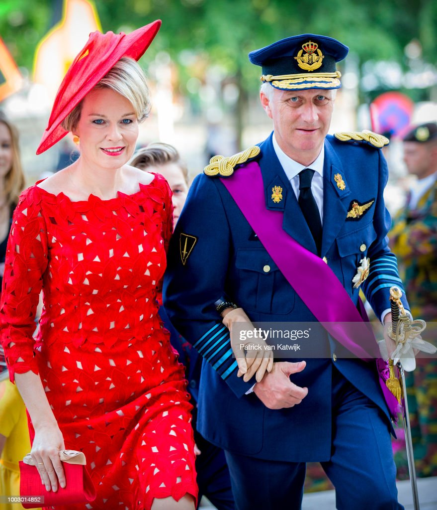 Belgian Royals Attend National Day : Foto di attualità