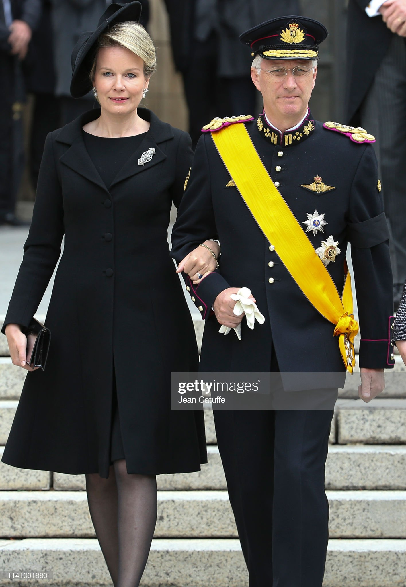 Похороны Великого Герцога Жана https://media.gettyimages.com/photos/king-philippe-of-belgium-and-queen-mathilde-of-belgium-leave-the-of-picture-id1141091880?s=2048x2048