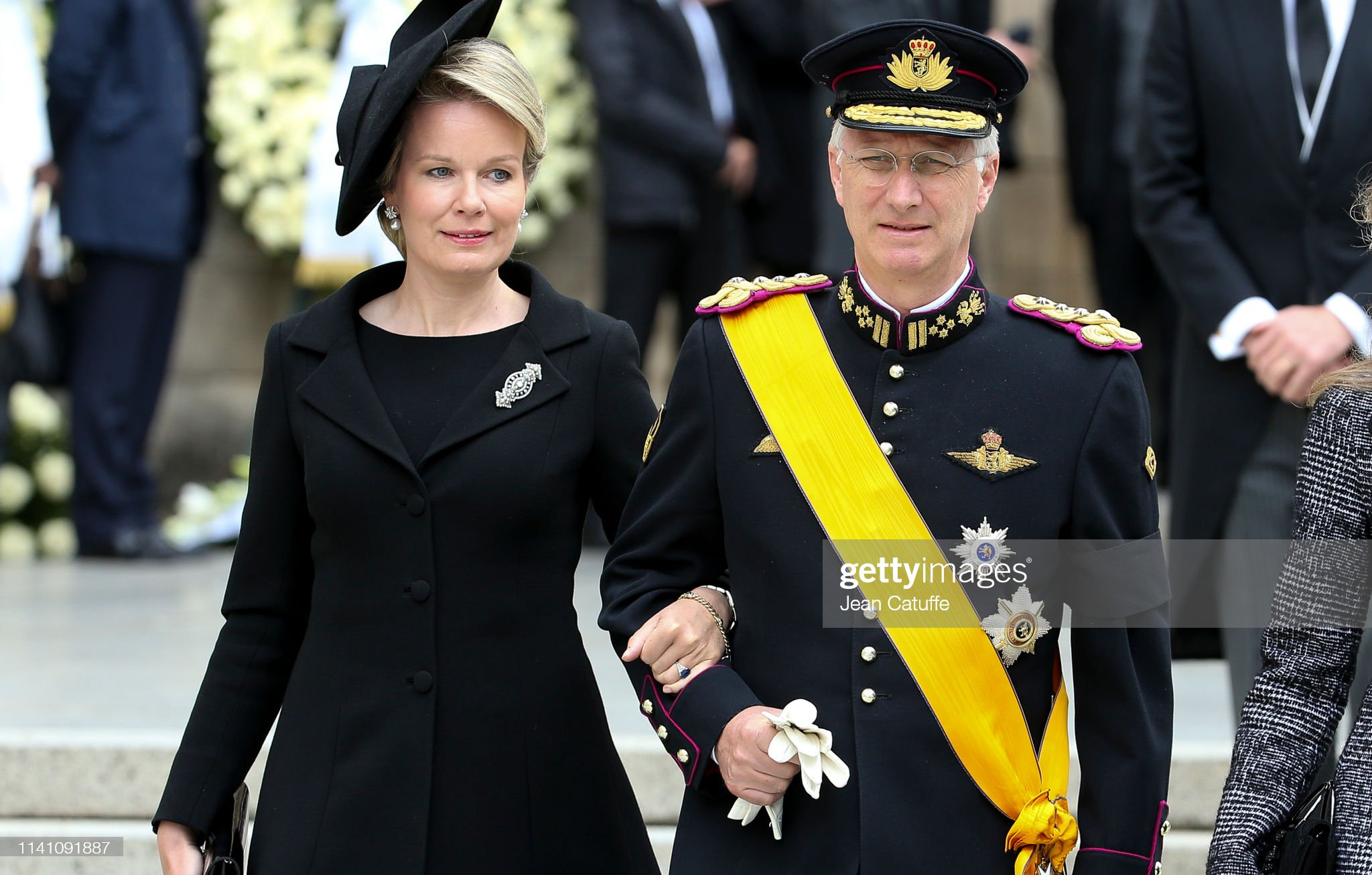 Похороны Великого Герцога Жана https://media.gettyimages.com/photos/king-philippe-of-belgium-and-queen-mathilde-of-belgium-leave-the-of-picture-id1141091887?s=2048x2048