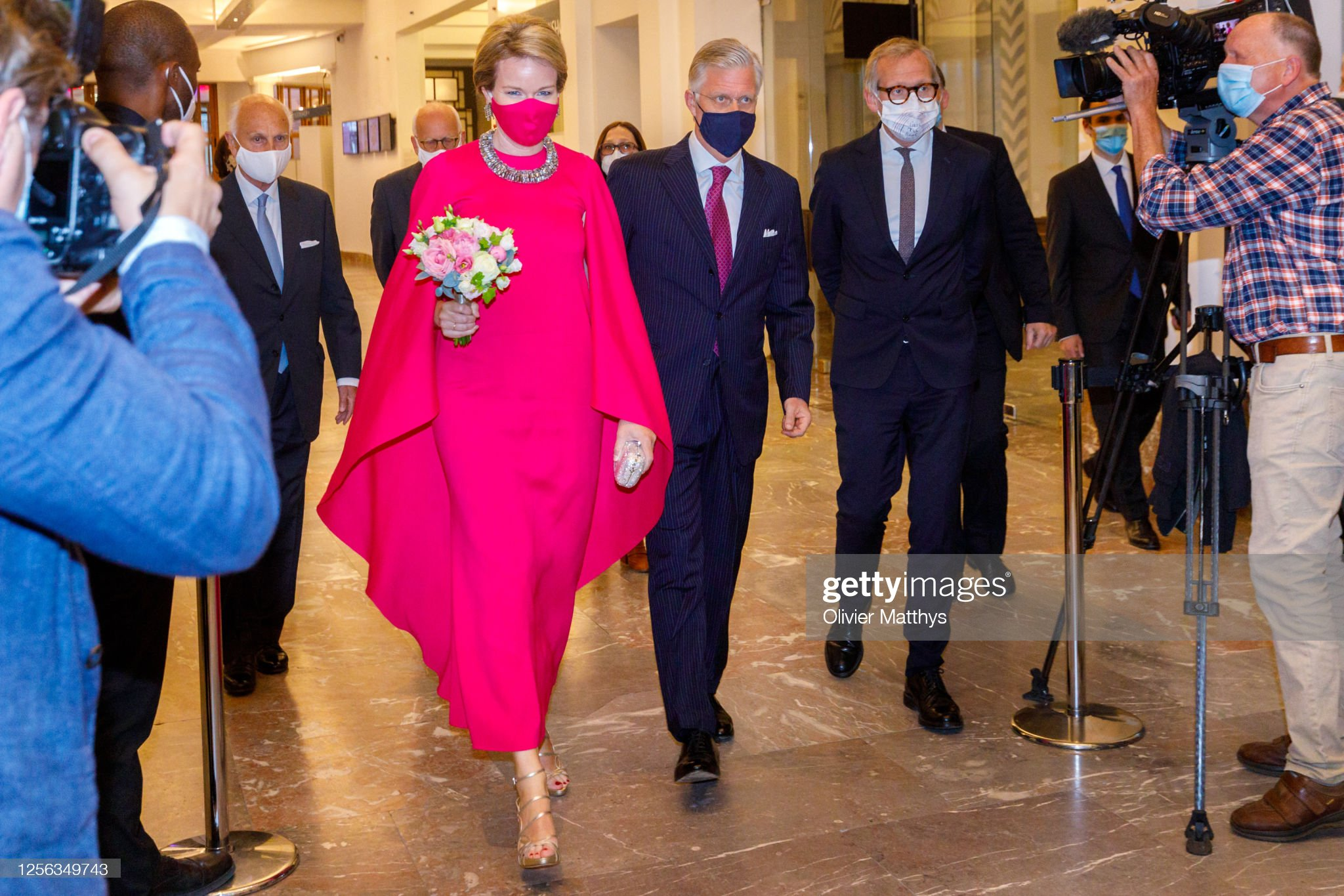 Belgium Royal Family Attends The Preludium To The National Day Concert At The Bozar Palace For Fine Arts In Brussels : News Photo