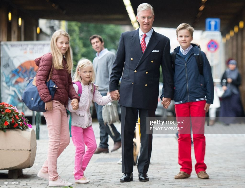 BELGIUM-ROYALS : News Photo