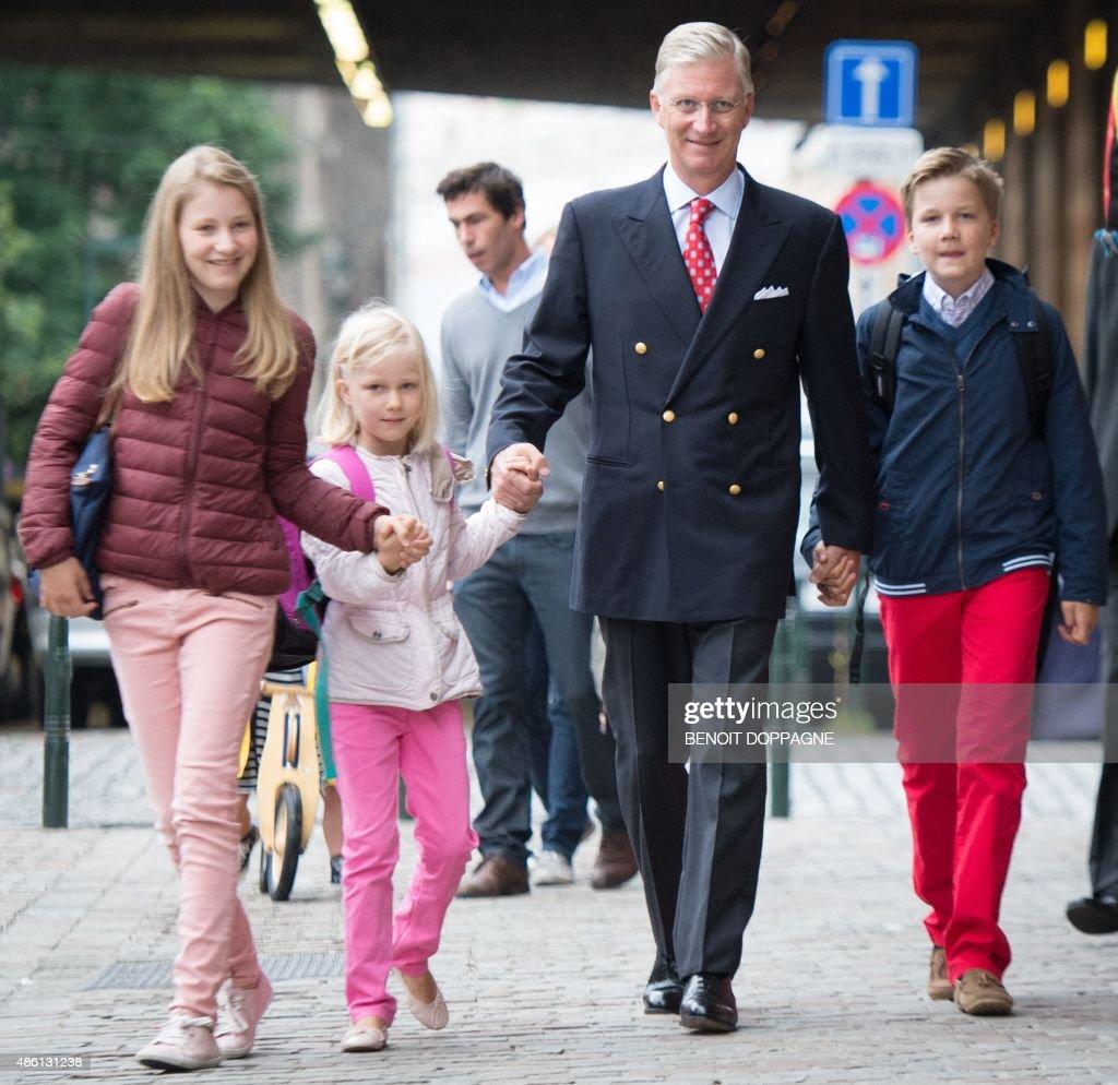 BELGIUM-ROYALS : News Photo