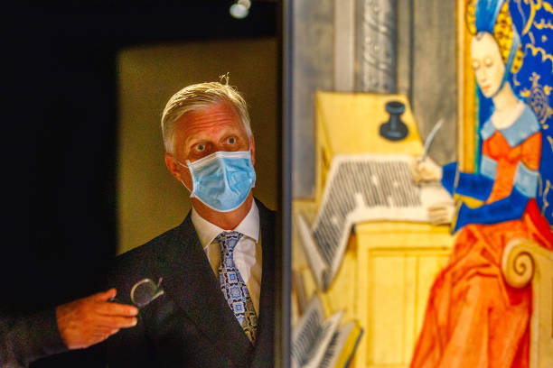 BEL: King Philippe Of Belgium Attends The Opening Of The New Museum Of The Royal Library Of Belgium In Brussels