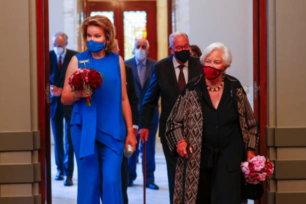 BEL: Belgium Royal Family Attends The Closing Concert Of the 2021 Queen Elisabeth International Competition At Palais des Beaux-Arts