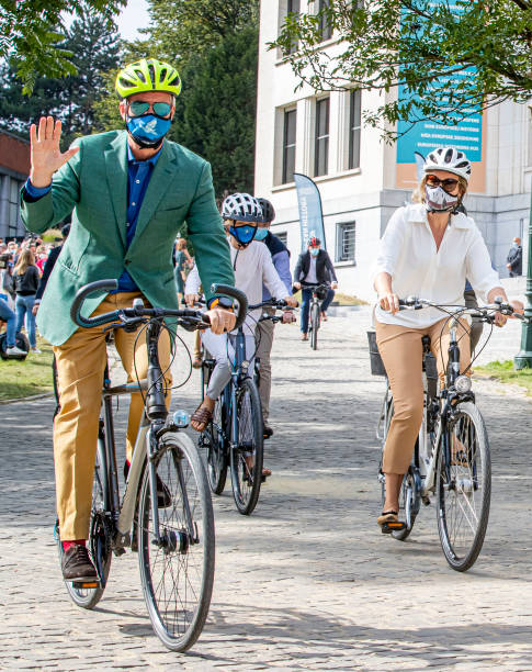 BEL: Belgian Royal Family Attend Car Free Day In Brussels