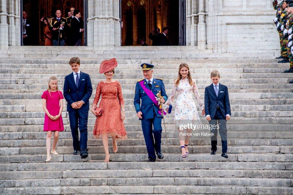 National Day Of Belgium 2019 : News Photo